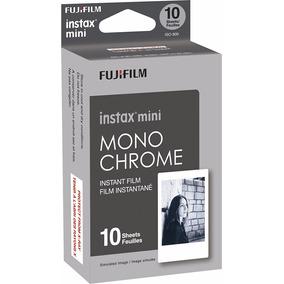 Película Fuji Intax Mini Monochrome 10 Fotos