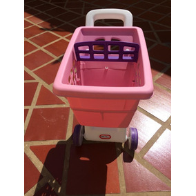 Carrito De Mercado Para Niña Little Tikes By Fisher Price