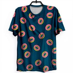 222a3cec5 Camiseta Camisa Rosquinha Kpop Donut Unissex