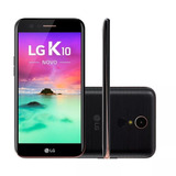 Lg K10 2017 Lg-m250f 16gb Tela 5.3 13mp/5mp 1 Chip Preto