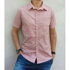 d3b4e8b726c0d Camisa Floral Masculina - Camisa Masculino Rosa claro no Mercado ...