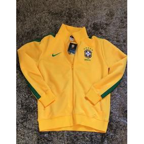 Casaco Brasil Cbf Nike a18336b57a280
