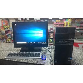 Computador Completo Cpu Intel Q8300 4gb 1t Monitor Lg 22