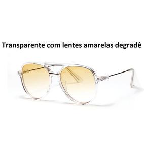 0925e65e2134e Oculos Colorido Transparente - Óculos De Sol Sem lente polarizada no ...