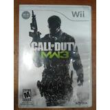 Juego Nintendo Wii Call Of Duty Modern Warfare 3