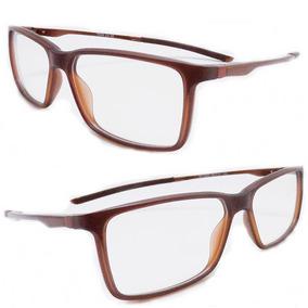 89856da3e2a0f Oculos De Grau Esportivo Masculino Curvado - Óculos Marrom no ...