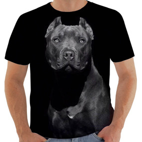 8045662ce35f6 Camiseta Ou Regata Cachorro Dog Cão Pet Pitbull 9570