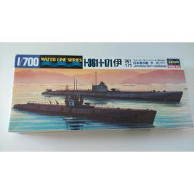 1/700 Hasegawa Hobby Kit Submarino Naval Japones I-361 I-171