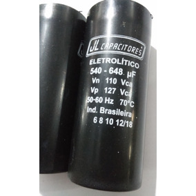 Capacitor Eletrolitico 540-648uf 110v Jl