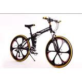 Bicicleta Plegable Aluminio Aro 26