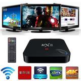 Tv Box Mxq 4k Android 7.1 Smart Tv Convierte Tu Tv En Smart
