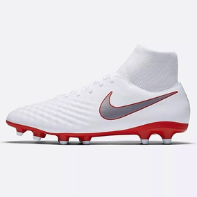 best loved 1a09f 2c409 Tachon Nike Con Tobillera Nike Magista Obra 2 Academy Df Fg