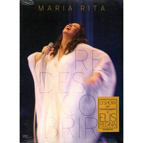 Dvd Maria Rita Redescobrir - Show Em Homenagem A Elis Regina