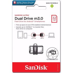 Memoria Usb 3.0 Dual Drive 32gb Sandisk Ultra Celular