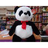 Peluches Oso Panda Corbata Roja 1 Metro 15 Cm Super Oferta