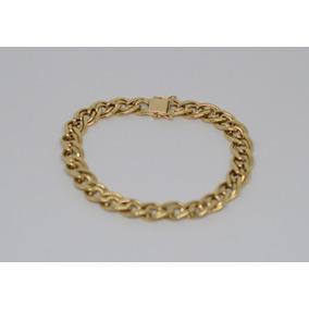 a0b42971985 Pulseira Grossa De Ouro 18k 750 - Joias e Relógios no Mercado Livre ...