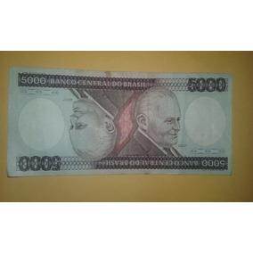 Cédulas 5.000 Cinco Mil Cruzeiros