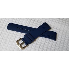 5527764bb4d Pulseira Original Para Relógio Nautica Azul Marinho - Relógios no ...