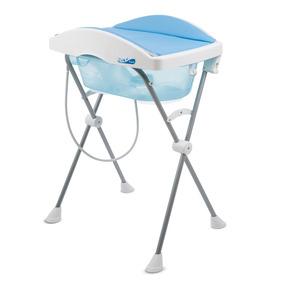 Banheira Com Trocador - Tchibum! - Azul - Burigotto