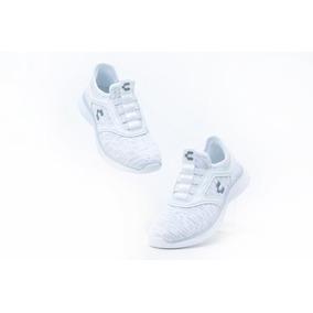Tenis Comodos Charly 1049286 Blanco 100% Originales!!