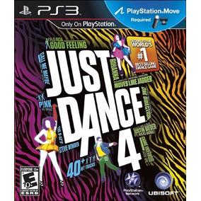 Jogo Just Dance 4 Playstation 3 Ps3 Dança Ps Move Game