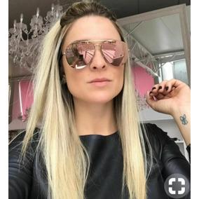 Óculos Rosa Italiano Lançamento Lindo Oculos Sol Grau - Óculos no ... e0c3fbe763
