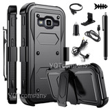 For Samsung Galaxy J3 Prime - Black With Accessory - Ca-2098