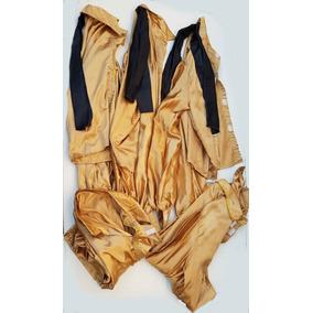 Camisa Dourada Usada Fantasia - Lote Com 05 Peças