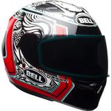 Casco Integral De Motocicleta Bell Qualifier (empalme Blanco