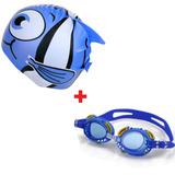 Conjunto Touca Infantil + Óculos Natação Infantil Promoção daf356f52f