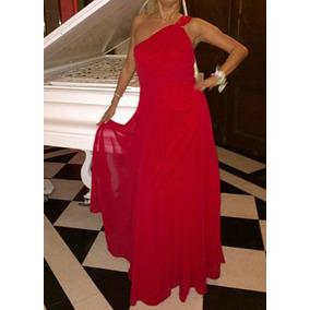 Vestido rojo de fiesta usado