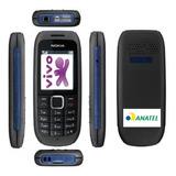 Celular Nokia 1616,2g,só Vivo-não Pega Em Mg,idoso,lanterna
