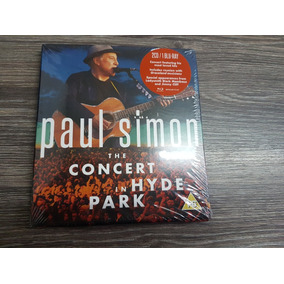 Paul Simon - The Concert In Hyde Park - Blu Ray + 2 Cds, Lac