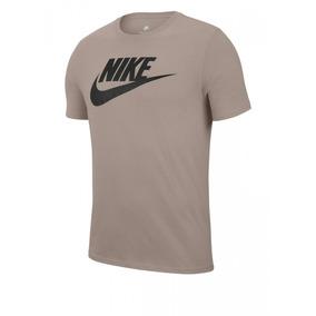 ebd576a9401c5 Camiseta Nike Grafite 696707 Bege pto