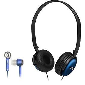 Kit Com 2 Fones - Ear E Head - Cv215 - Coby