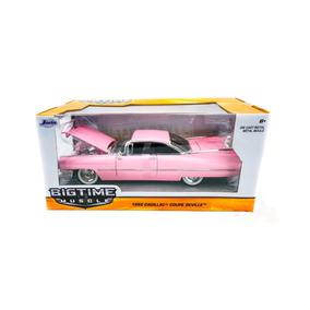 Miniatura Cadillac Coupe De Ville 1959 1:24 Jada Toys Rosa