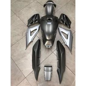 Kit Carenagem Tanque Honda Cbx 250 Twister Cinza 2008