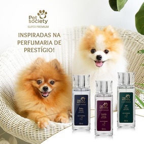 Deo Colônia Para Pets Pet Society Super Premium - 50 Ml