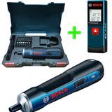 Atornillador Kit Inalambrico 3,6v Bosch + Medidor Laser
