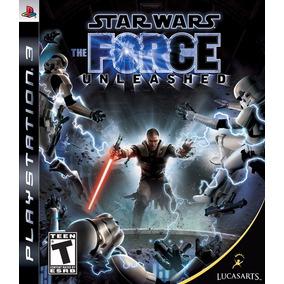 Jogo Star Wars The Force Unsleashed Ps3 Mídia Física Sony