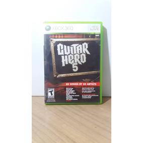 Guitar Hero 5 Xbox 360 Seminovo