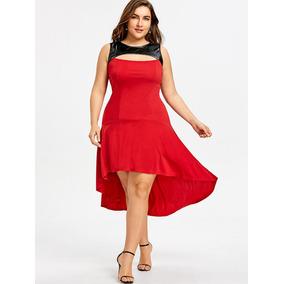 576705966 Vestido Rojo Largo - Vestidos Largos de Mujer en Mercado Libre México