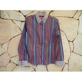 b834676aa1a Camisa Social Dudalina Listrada - Algodão Egípcio - Tam 40