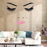 Salòn,estetica,casa,decoracion Vinil Cejas,labios,pestañas