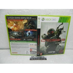 Crysis 3 Original Midia Fisica C/ Caixa P/ Xbox 360 Loja Rj