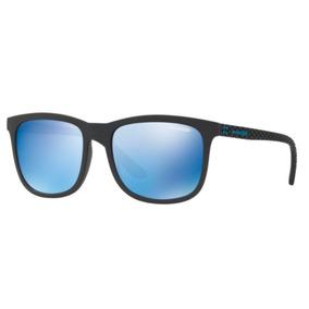 Oculos Sol Arnette Chenga An4240 01 55 Preto Fosco Azul Espe aec1a5552e
