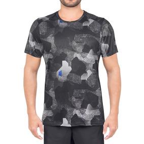 Camiseta Asics Fuzex Printed Ss Tee Preta f7535429a145d