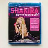 Shakira En Vivo Desde Paris Tour Blu Ray Usa Nuevo Cerrado!