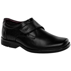 Zapato Escolar Niño Yuyin 25033 Ng 15-25 Envio Gratis