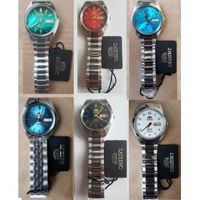 Relógio Orient Automatico Classico Aço Masculino